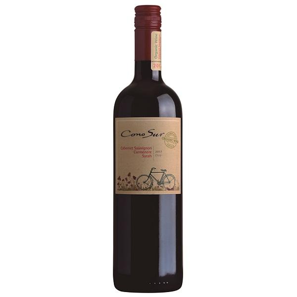 Organic Cabernet Sauvignon, Carmenere, Syrah - Onehourwines.com