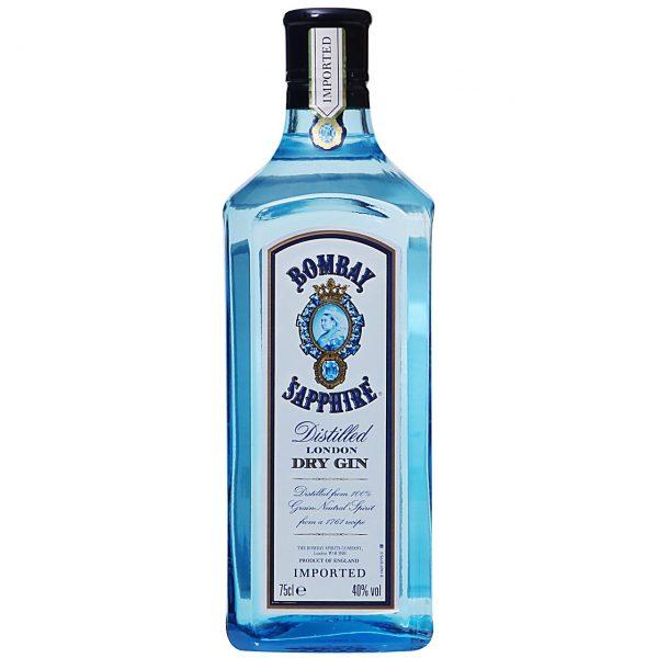 Bombay Sapphire Gin - One Hour Wines