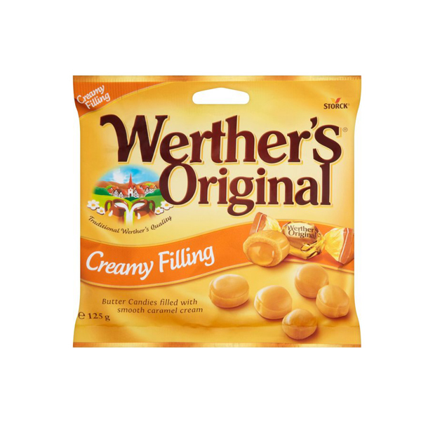 Werthers Original Creamy Filling 125g - One Hour Wines Malta