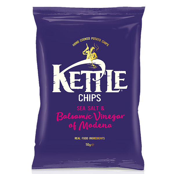 Kettle Chips - Sea Salt and Balsamic Vinegar (Modena) - One Hour Wines