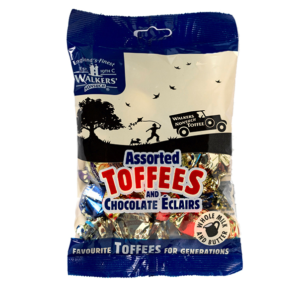Walker's Nonsuch Toffees Assorted 150g - One Hour Wines Malta