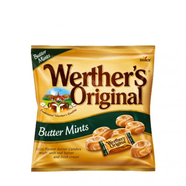 Werthers Original Butter Mint 137.5g - One Hour Wines Malta