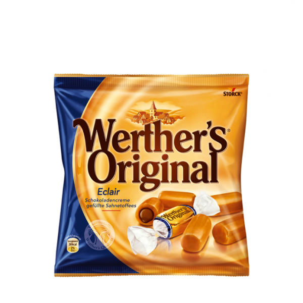 Werthers Original Eclairs 100g - One Hour Wines Malta