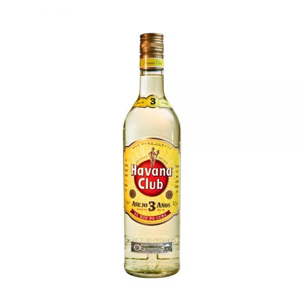 Havana Club Rum Anejo 3yr 70cl One Hour Wines Malta