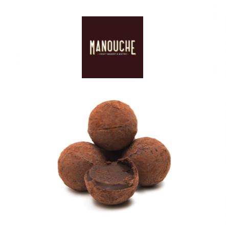 Manouche Milk Chocolate Truffles X 4