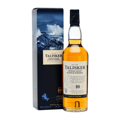 Talisker Single Malta Scotch Whisky - 10 Year Old - One Hour Wines