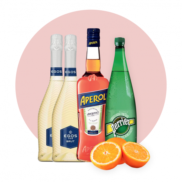 Aperol Spritz Delivery - One Hour Wines