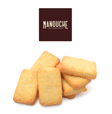 Shortbread Biscuits Manouche - One Hour Wines